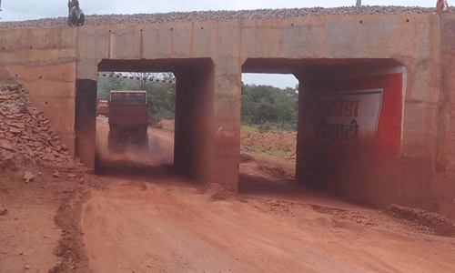 Const of Roadbed & Minor Bridges between Dallirajhara to Rowghat section in C G-2