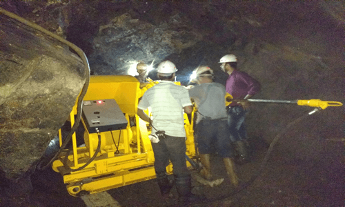 Banwas Block of Khetri Copper Mine Rajasthan 2